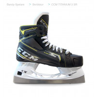 Коньки CCM SuperTacks TITANIUM 3 Bandy